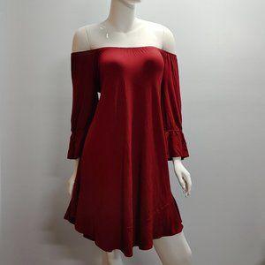 Style & Co Dress Essential Off Shoulder Dress